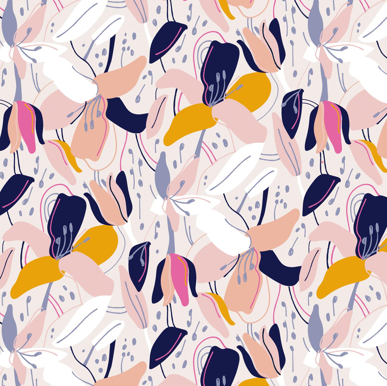 Fiilis Design-Lilja pattern