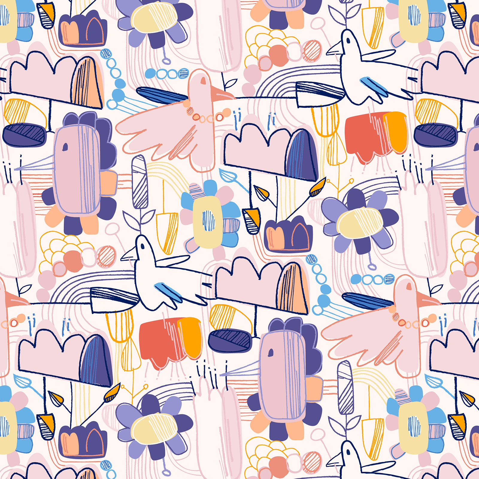 Fiilis Design Spring Magic Pattern